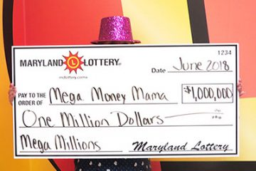 Mega Money Mama lottery winner