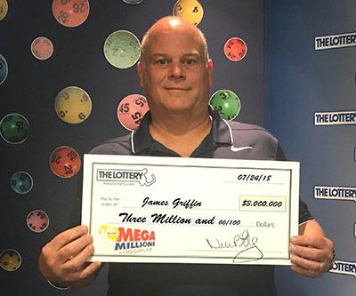 Winthrop man collects $3 million prize with Mega Millions Megaplier