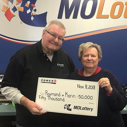 Missouri couple wins powerball