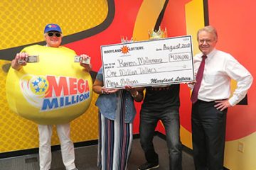 Ravens fan win megamillions