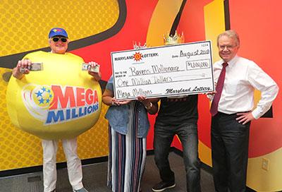 Maryland's millionaire with $1 million