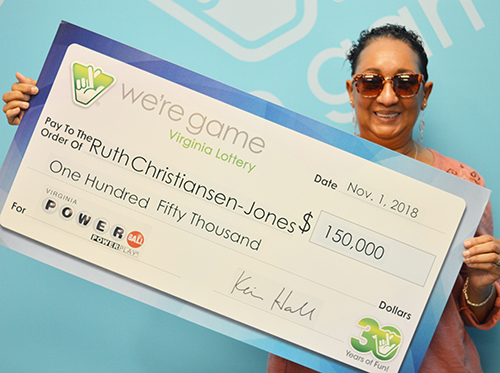 Virginia woman claims $150,000 in Powerball drawing