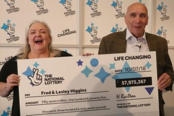 Scottish couple win euromillions