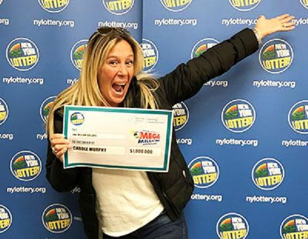44-year-old Oceanside Woman WINS $1,000,000 MEGA MILLIONS PRIZE